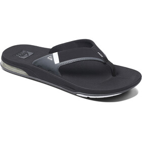 Reef Fanning 2.0 Teenslippers Heren, black/white